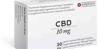 Satipharm: des pilules de CBD en vente en Europe